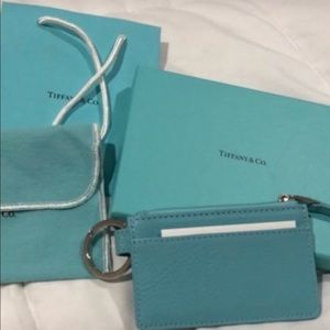 Accessories - Tiffany & co coin card key fob